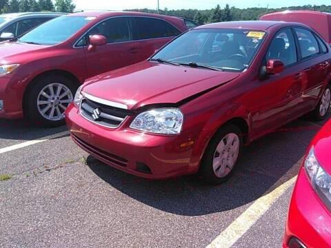 2008 Suzuki Forenza for sale at Cj king of car loans/JJ's Best Auto Sales in Troy MI