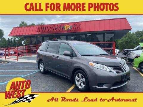 2015 Toyota Sienna for sale at Autowest of GR in Grand Rapids MI