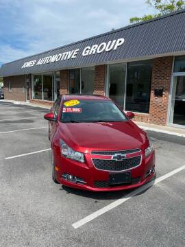 2014 Chevrolet Cruze for sale at Jones Automotive Group in Jacksonville NC
