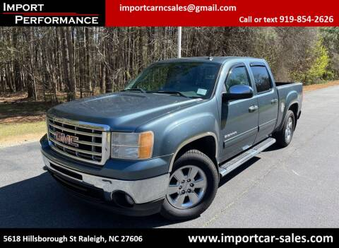 2011 GMC Sierra 1500 for sale at Import Performance Sales in Raleigh NC
