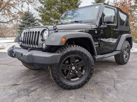 2015 Jeep Wrangler for sale at West Point Auto Sales in Mattawan MI