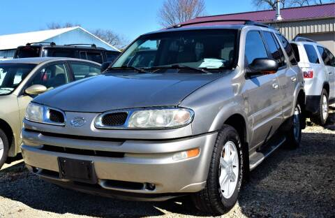 2002 Oldsmobile Bravada for sale at PINNACLE ROAD AUTOMOTIVE LLC in Moraine OH