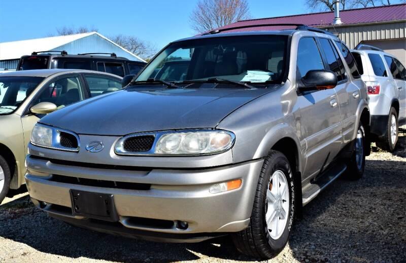2002 Oldsmobile Bravada for sale at PINNACLE ROAD AUTOMOTIVE LLC in Moraine OH