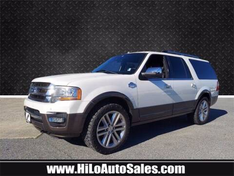 2016 Ford Expedition EL for sale at Hi-Lo Auto Sales in Frederick MD