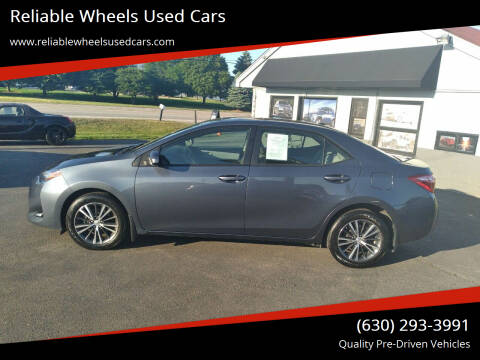 2017 Toyota Corolla for sale at Reliable Wheels Used Cars in West Chicago IL