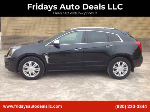 2012 Cadillac SRX for sale at Fridays Auto Deals LLC in Oshkosh WI
