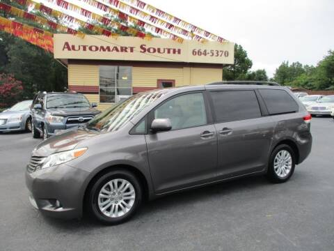 2011 Toyota Sienna for sale at Automart South in Alabaster AL