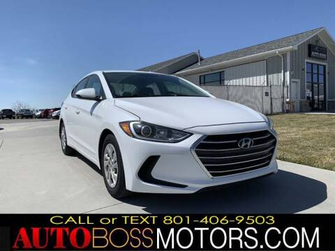 2017 Hyundai Elantra for sale at Auto Boss in Woodscross UT