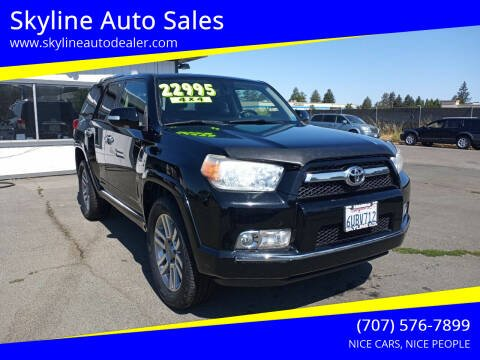 2011 Toyota 4Runner for sale at Skyline Auto Sales in Santa Rosa CA