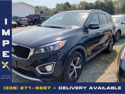 2016 Kia Sorento for sale at Impex Auto Sales in Greensboro NC