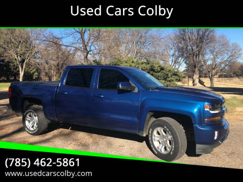 2018 Chevrolet Silverado 1500 for sale at Used Cars Colby in Colby KS