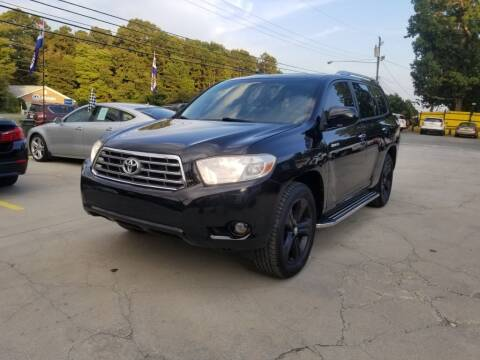 2010 Toyota Highlander for sale at DADA AUTO INC in Monroe NC