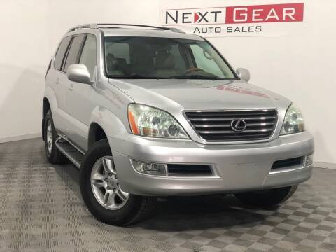 2006 Lexus GX 470 for sale at Next Gear Auto Sales in Westfield IN