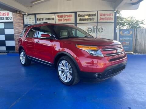 2012 Ford Explorer for sale at ELITE AUTO WORLD in Fort Lauderdale FL