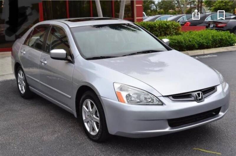 2003 Honda Accord for sale at CASH OR PAYMENTS AUTO SALES in Las Vegas NV