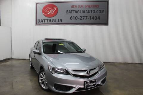 2017 Acura ILX for sale at Battaglia Auto Sales in Plymouth Meeting PA