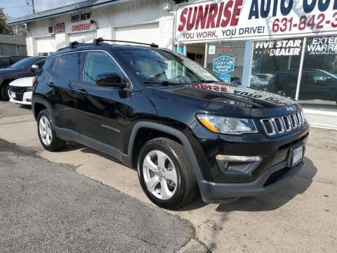 2018 Jeep Compass for sale at Sunrise Auto Outlet in Amityville NY