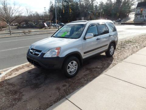 2004 Honda CR-V for sale at CAR CORNER RETAIL SALES in Manchester CT