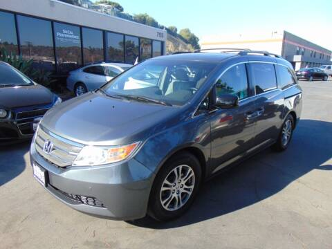 2012 Honda Odyssey for sale at So Cal Performance in San Diego CA