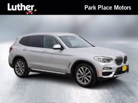 2018 BMW X3 for sale at Park Place Motor Cars in Rochester MN