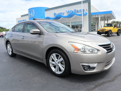 2015 Nissan Altima for sale at RUSTY WALLACE HONDA in Knoxville TN