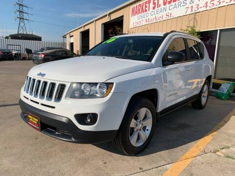 2016 Jeep Compass for sale at Market Street Auto Sales INC in Houston TX