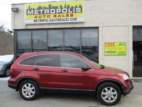 2007 Honda CR-V for sale at Metropolis Auto Sales in Pelham NH
