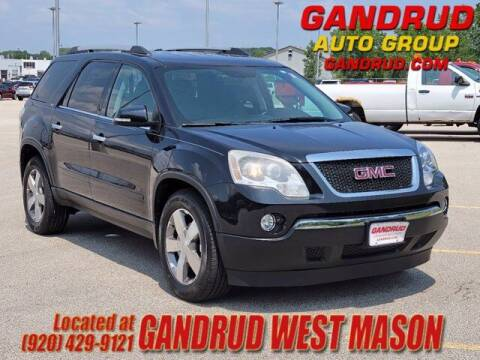 2012 GMC Acadia for sale at GANDRUD CHEVROLET in Green Bay WI