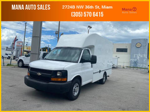 2012 Chevrolet Express Cutaway for sale at MANA AUTO SALES in Miami FL