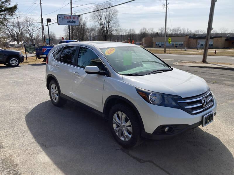 2014 Honda CR-V for sale at JERRY SIMON AUTO SALES in Cambridge NY