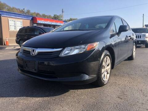 2012 Honda Civic for sale at Instant Auto Sales in Chillicothe OH