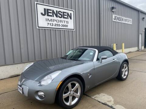 2007 Pontiac Solstice for sale at Jensen's Dealerships in Sioux City IA