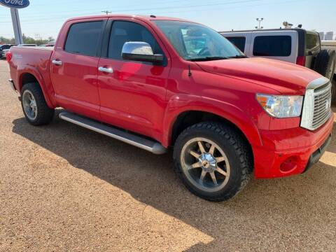 2010 Toyota Tundra for sale at STANLEY FORD ANDREWS in Andrews TX