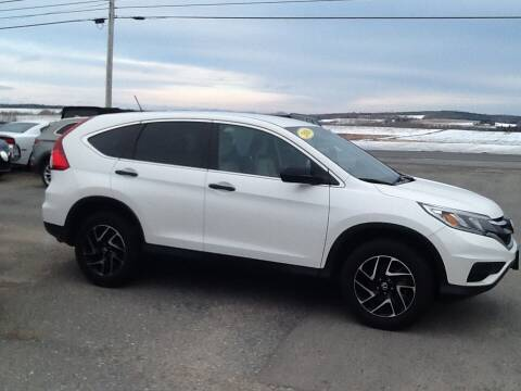 2016 Honda CR-V for sale at Garys Sales & SVC in Caribou ME