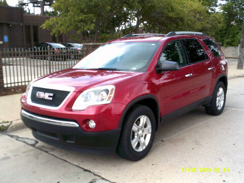 2012 GMC Acadia for sale at Fred Elias Auto Sales in Center Line MI