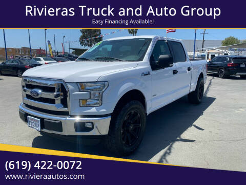 2016 Ford F-150 for sale at Rivieras Truck and Auto Group in Chula Vista CA