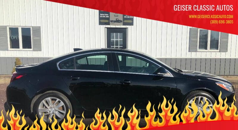 2016 Buick Regal for sale at Geiser Classic Autos in Roanoke IL