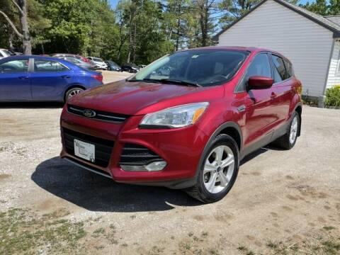 2015 Ford Escape for sale at Williston Economy Motors in South Burlington VT