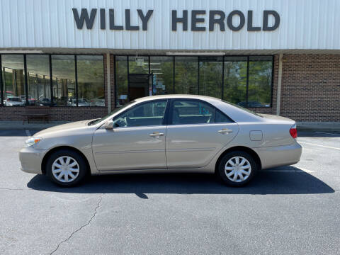 2005 Toyota Camry for sale at Willy Herold Automotive in Columbus GA