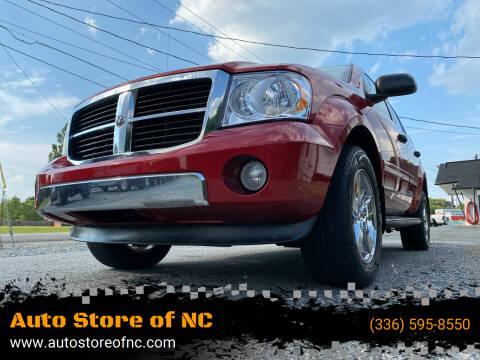 2007 Dodge Durango for sale at Auto Store of NC in Walkertown NC
