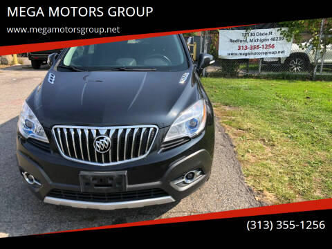 2016 Buick Encore for sale at MEGA MOTORS GROUP in Redford MI