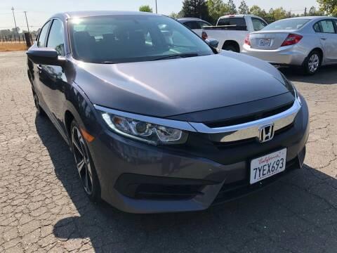 2017 Honda Civic for sale at Moun Auto Sales in Rio Linda CA