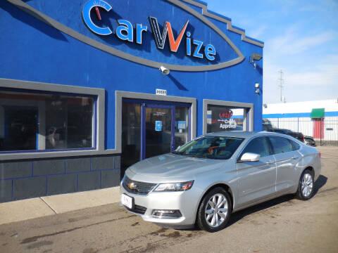 2019 Chevrolet Impala for sale at Carwize in Detroit MI