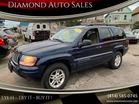 2004 Jeep Grand Cherokee for sale at Diamond Auto Sales in Milwaukee WI