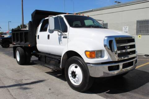2013 Ford F-750 Super Duty for sale at Truck and Van Outlet in Miami FL