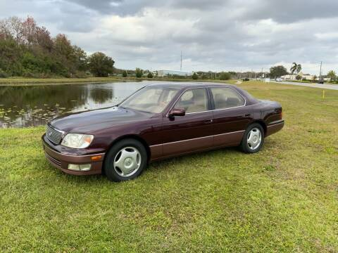 1998 Lexus LS 400 for sale at Unique Sport and Imports in Sarasota FL