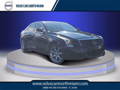 2013 Cadillac ATS for sale at Volvo Cars North Miami in Miami FL