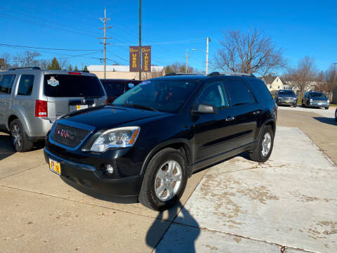 2012 GMC Acadia for sale at Bob Waterson Motorsports in South Elgin IL