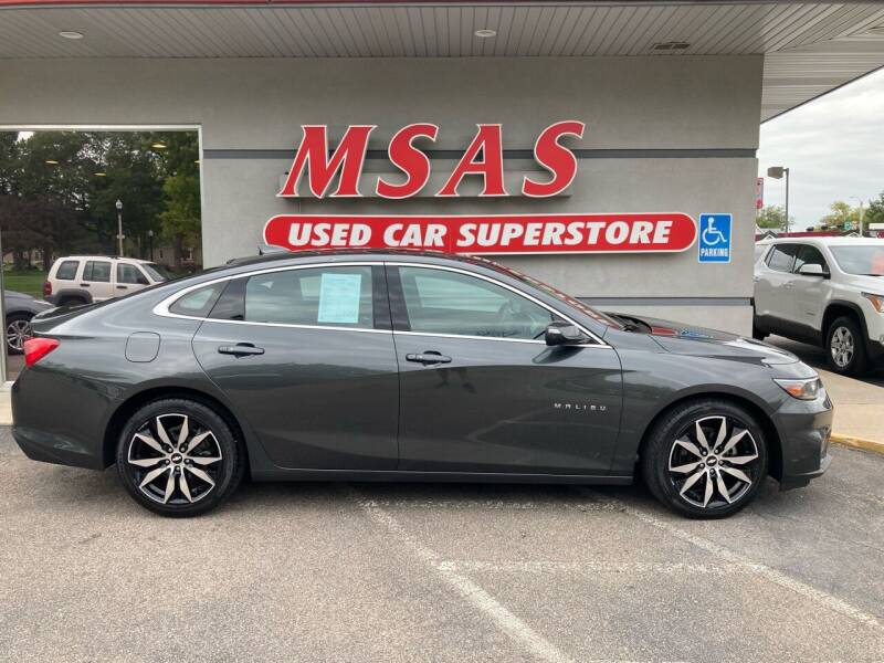 2017 Chevrolet Malibu for sale at MSAS AUTO SALES in Grand Island NE