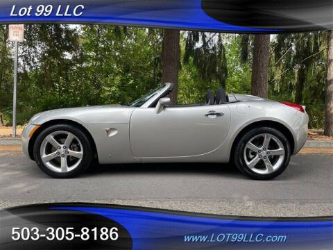 2008 Pontiac Solstice for sale at LOT 99 LLC in Milwaukie OR